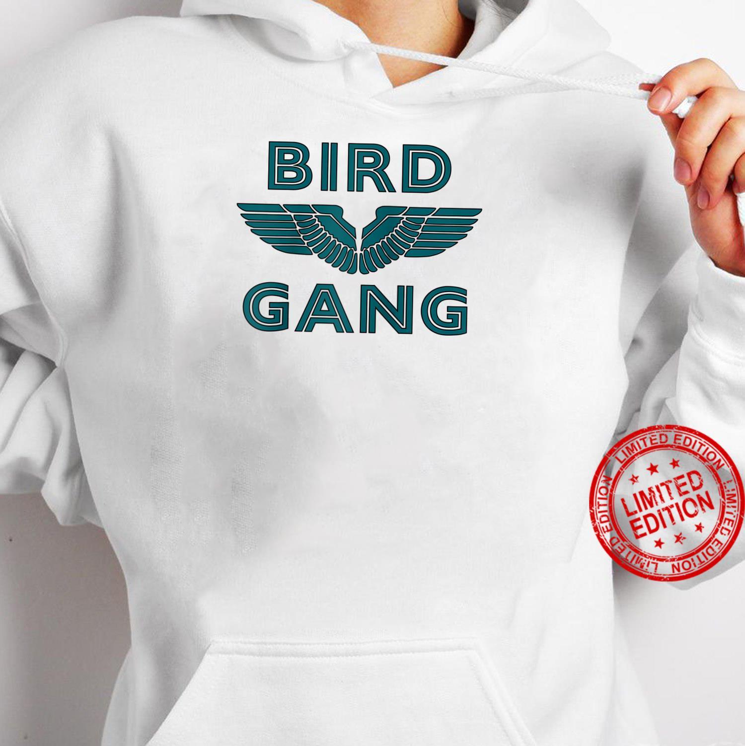 Bird Gang Football Shirt hoodie