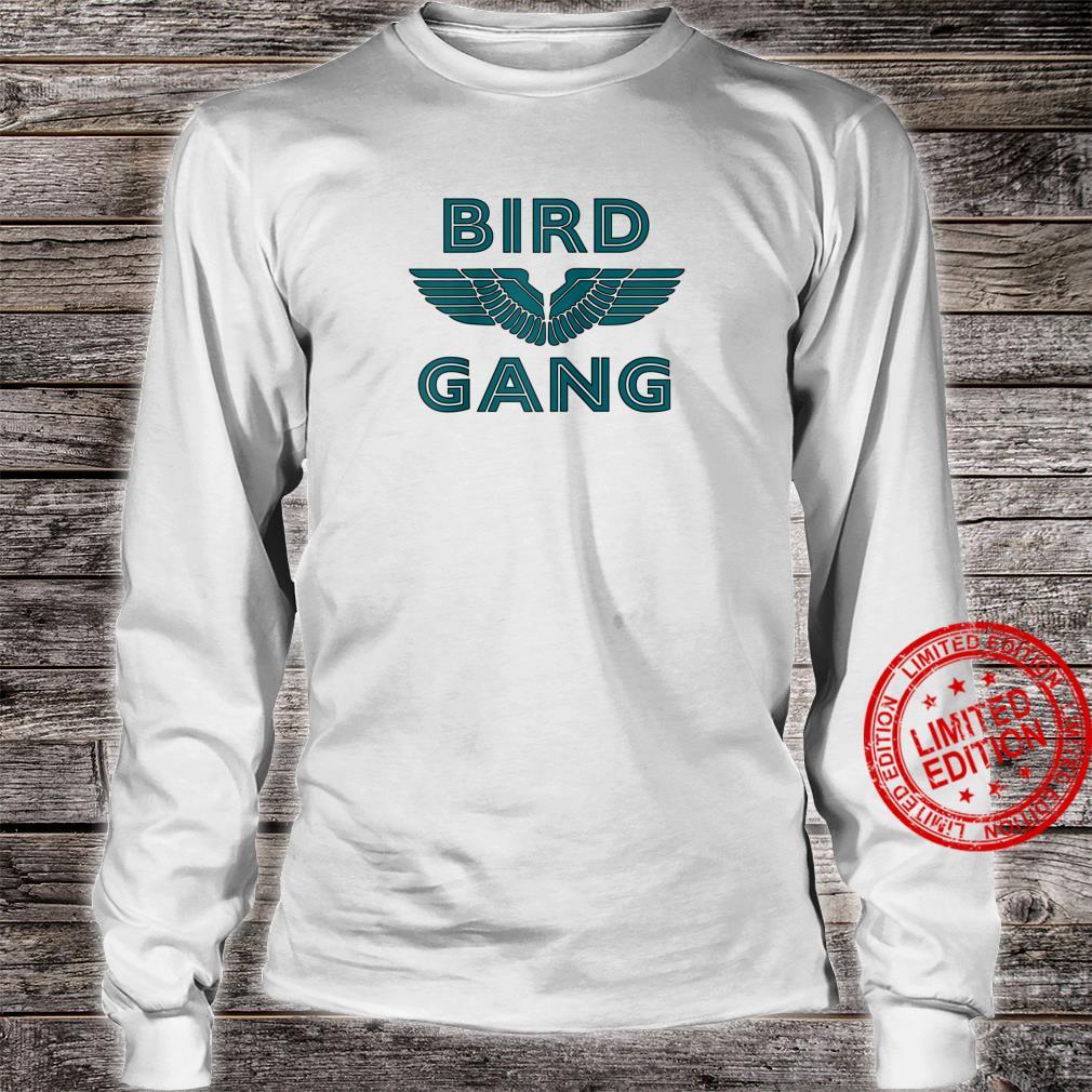 Bird Gang Football Shirt long sleeved