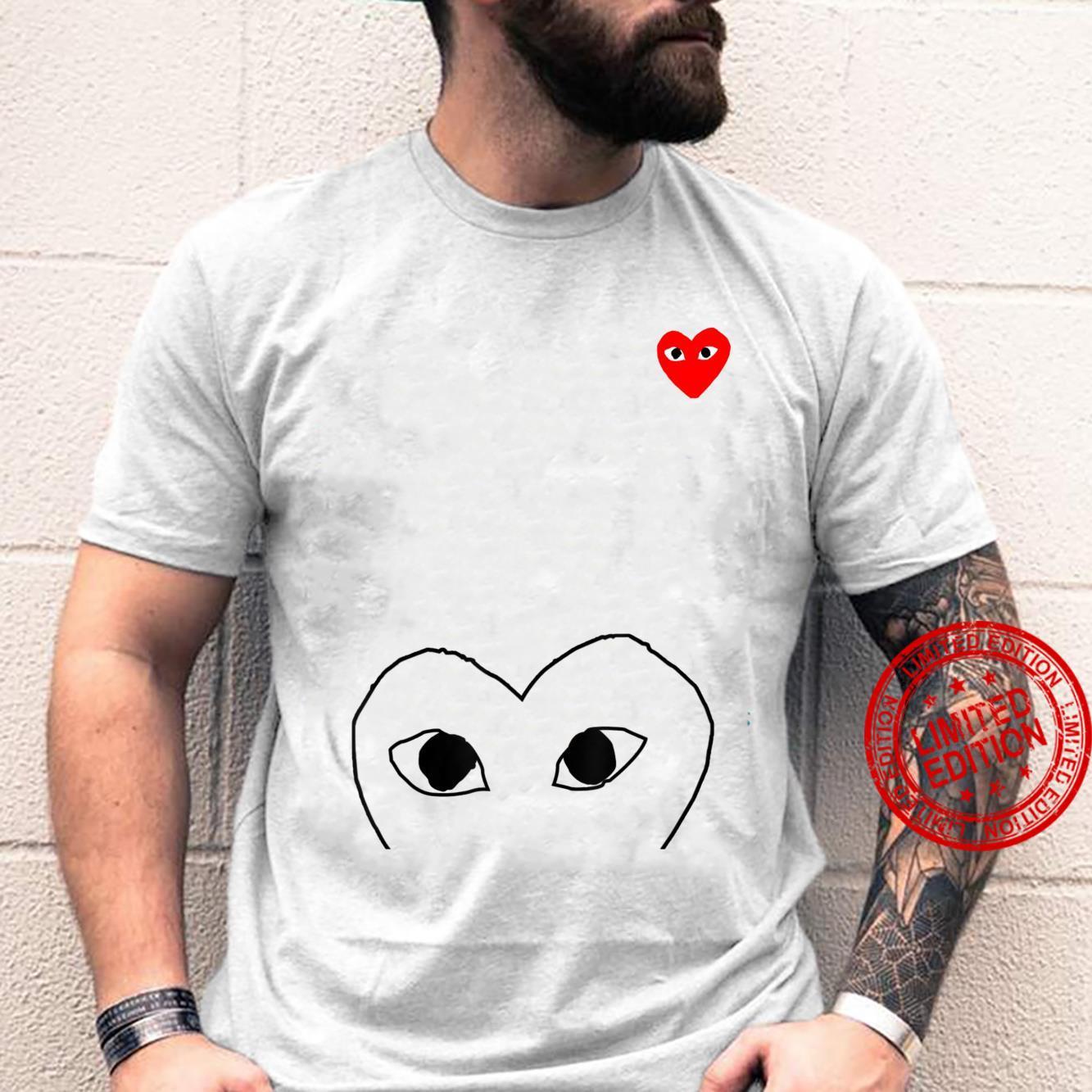 Heart Pocket Red Shirt