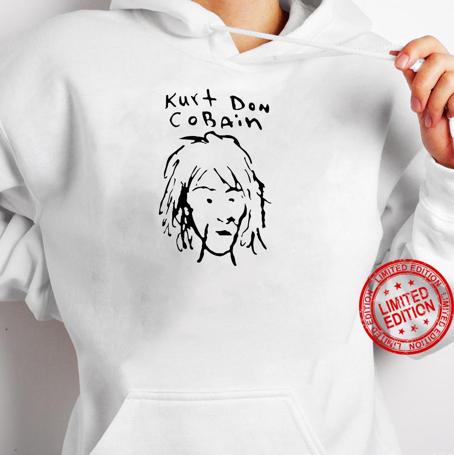 Kurt Don Cobain shirt hoodie