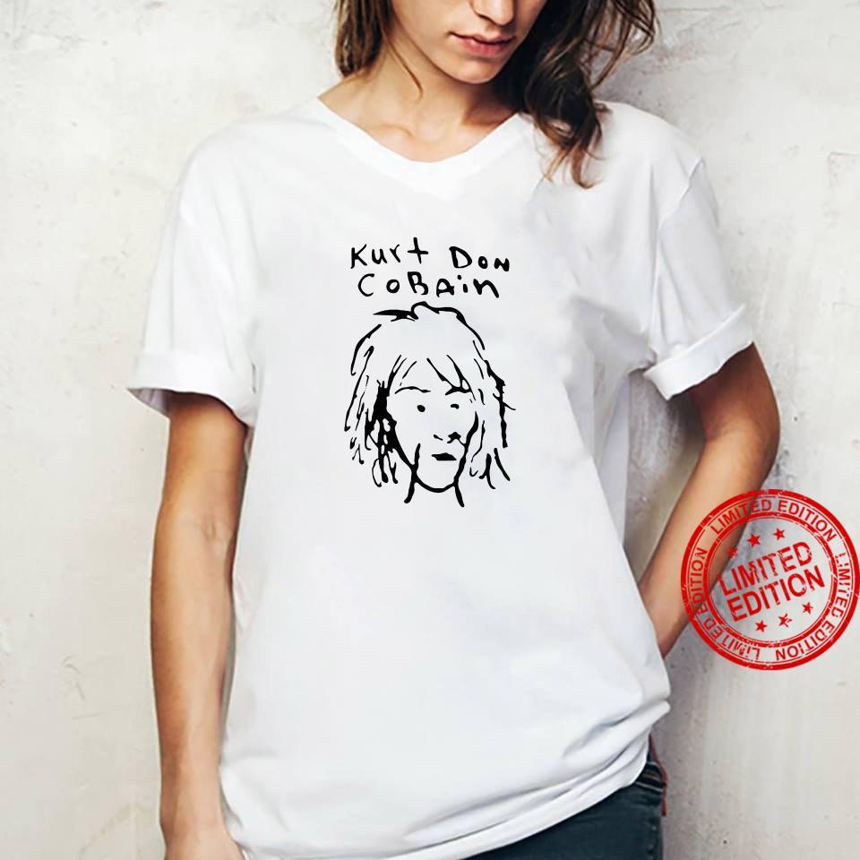 Kurt Don Cobain shirt ladies tee