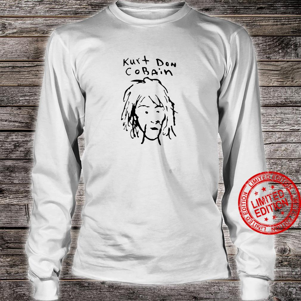 Kurt Don Cobain shirt long sleeved