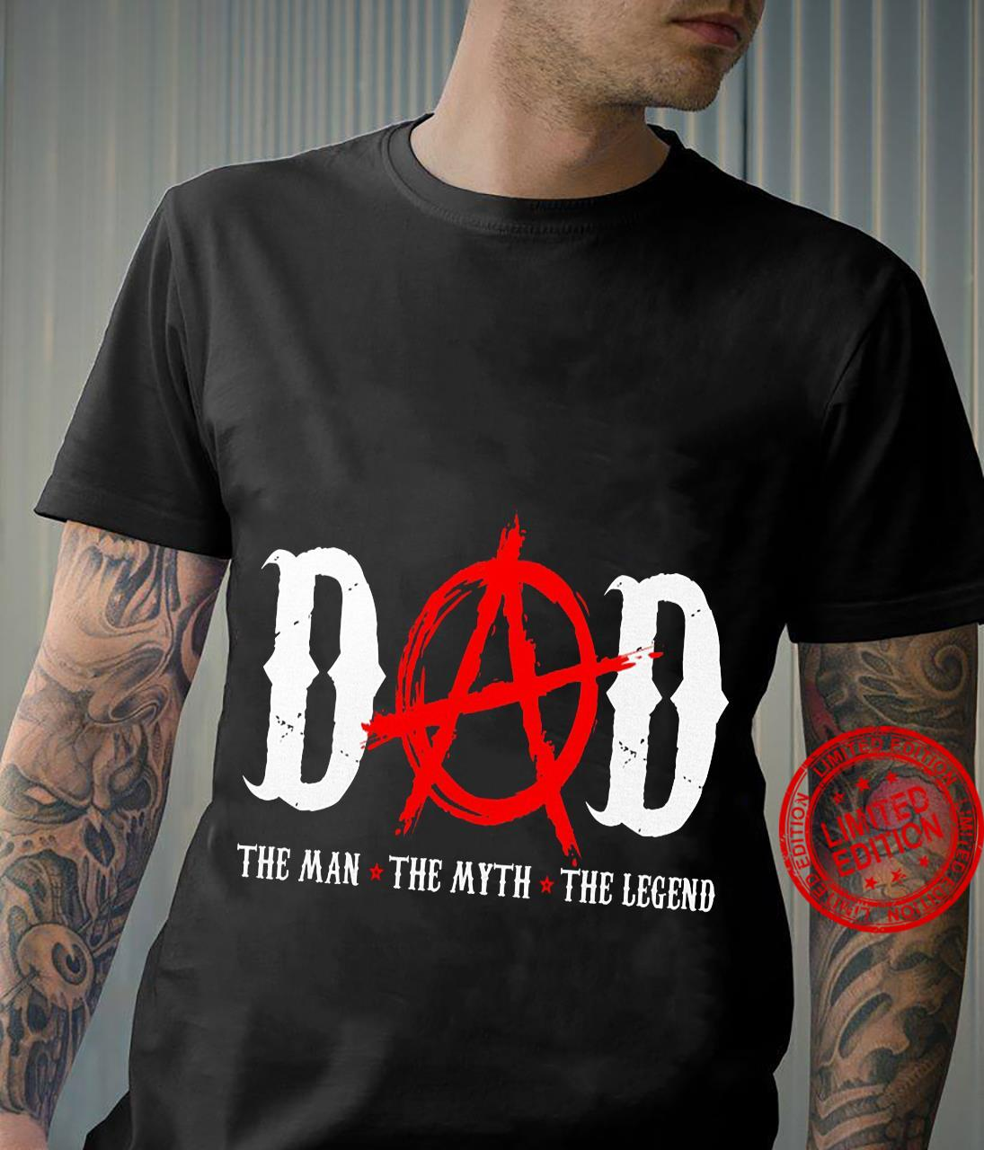 Dad the man the myth the legend father's day shirt